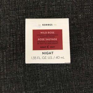 New in Box Korres Wild Rose Sleeping Mask